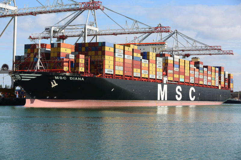 MSC Diana - Container Ship